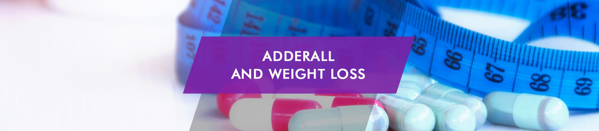 weight loss on adderall