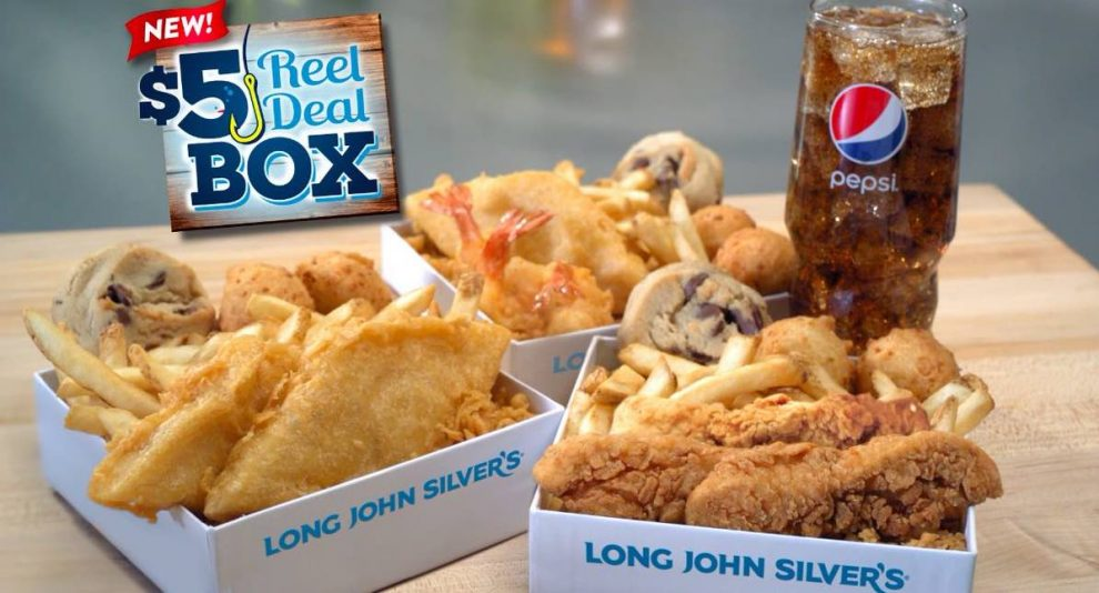 Long John Silver Natural Cut Fries