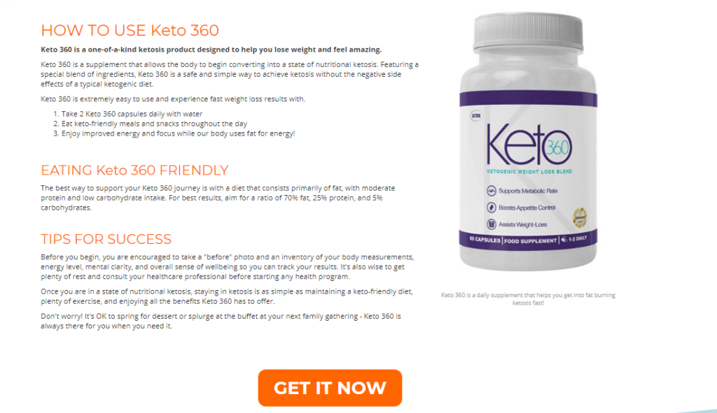 How Can You Use Ultra Keto 360