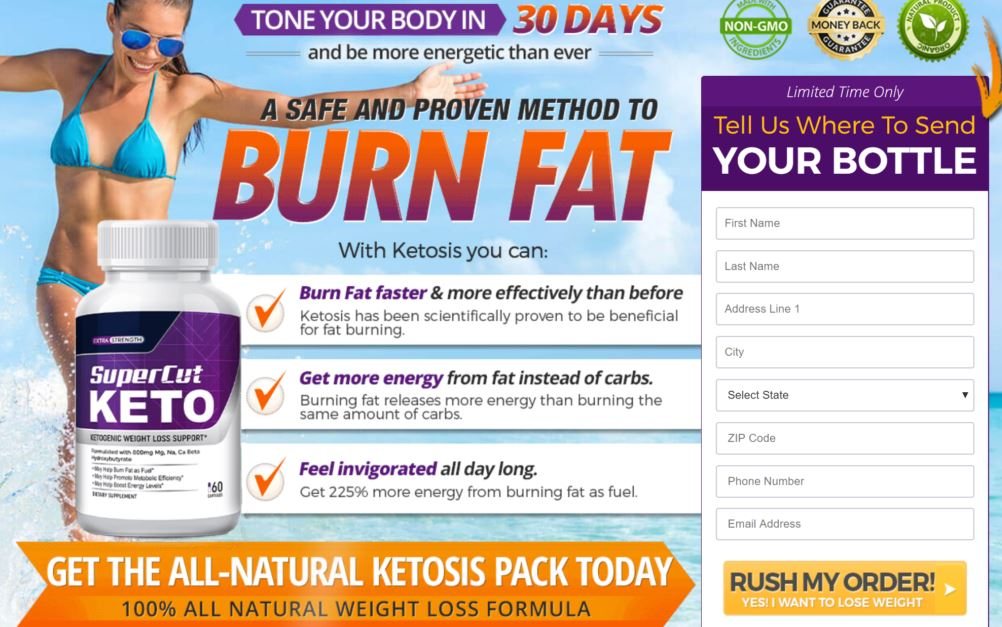 Super Cut Keto Pills Reviews