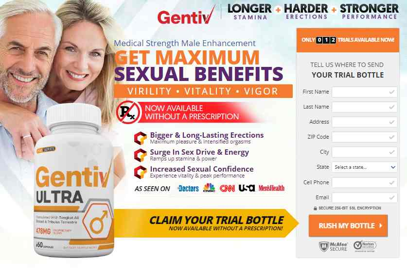 Gentiv Ultra Male Enhancement