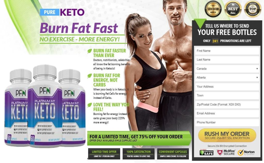 Platinum Fit Keto Diet