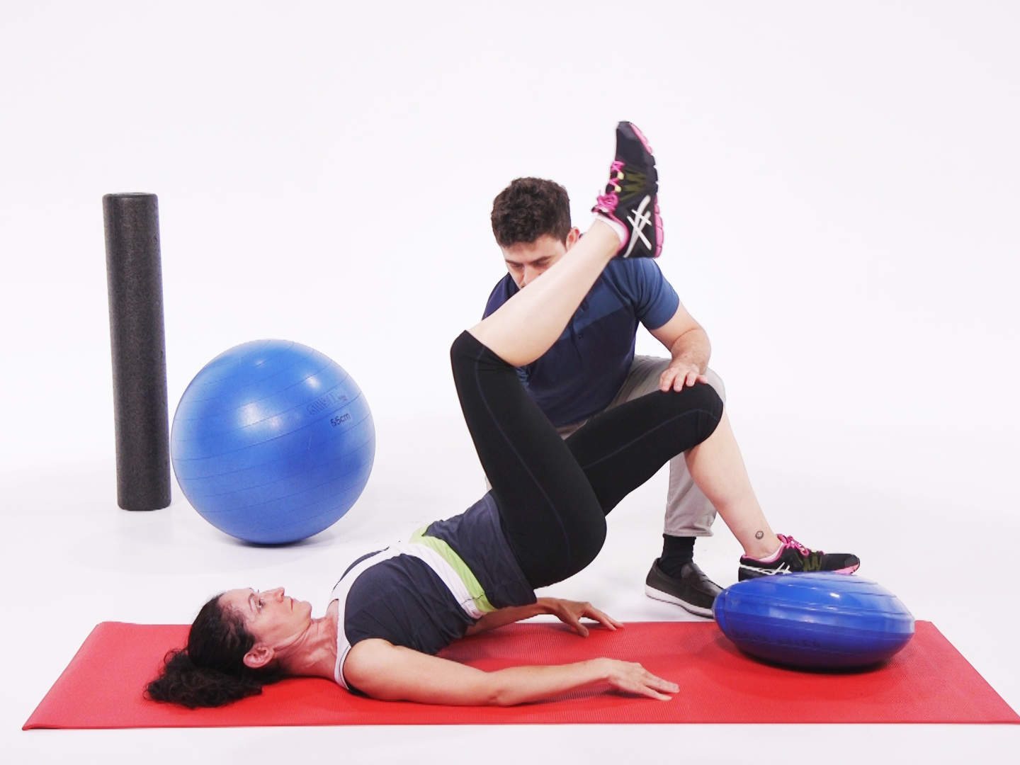 Core Exercises for Back Pain with Ball