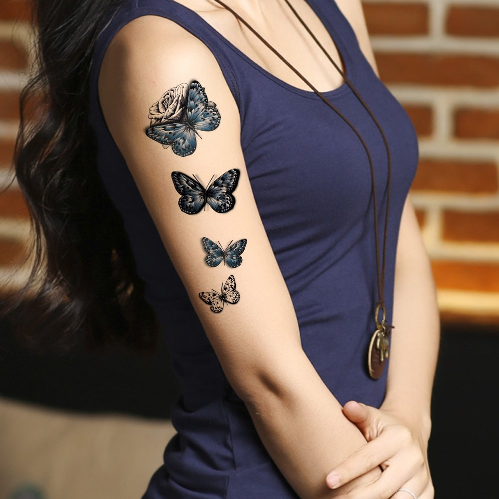 Butterflies Tattoos on Arm