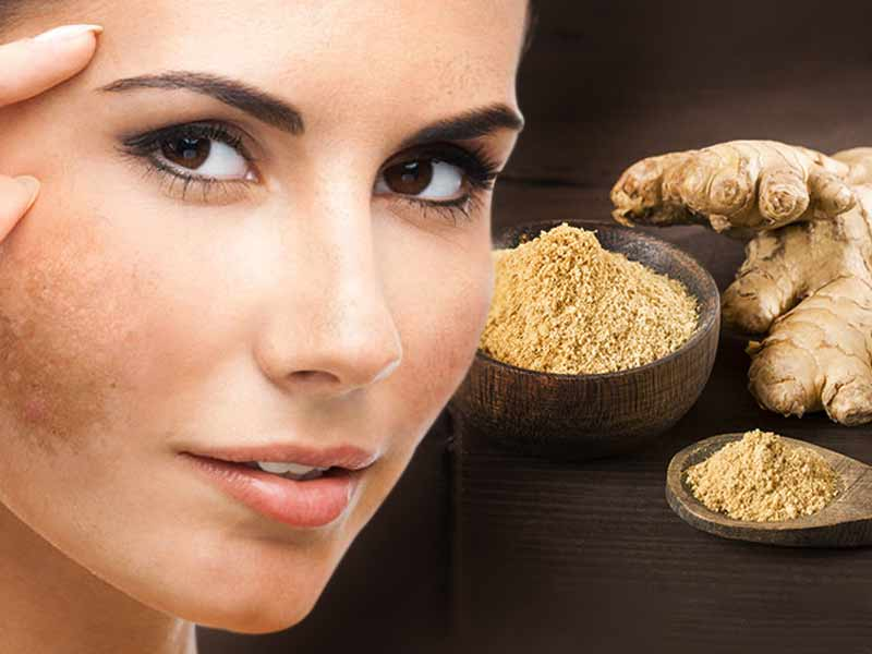 ginger for skin whitening
