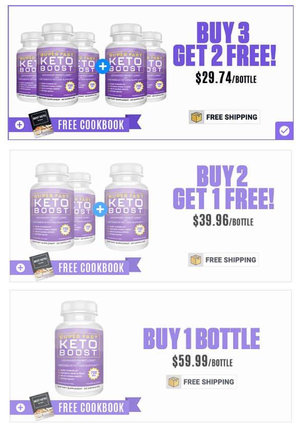 super fast keto boost package