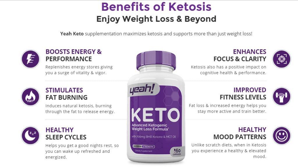 Benefits of Yeah Keto