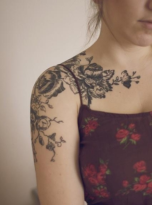 shoulder tattoos female