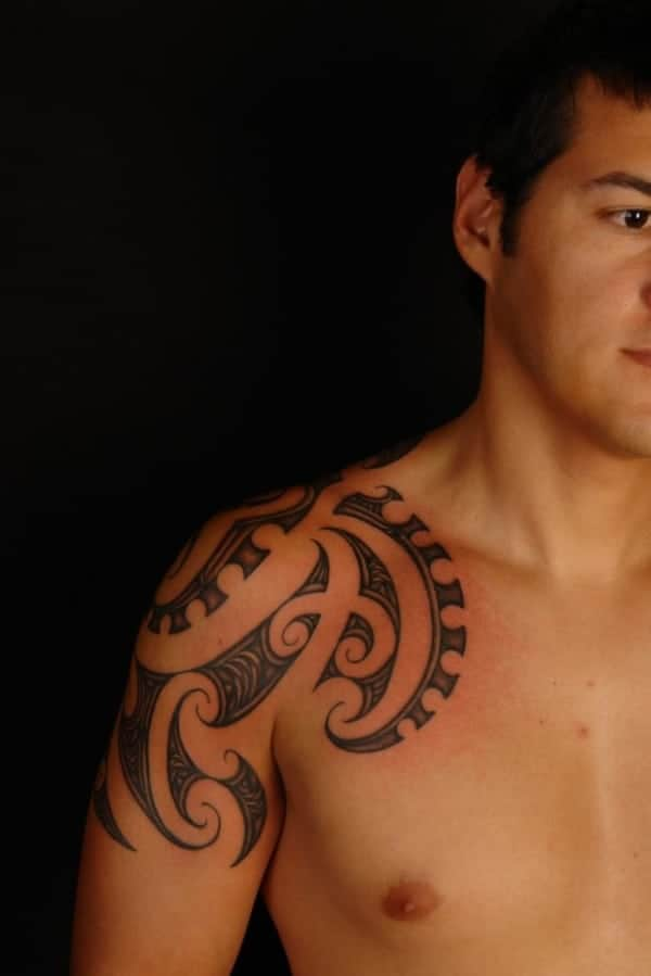 shoulder tattoos ideas for guys