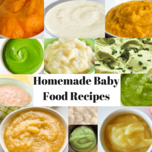 Homemade Baby Food Recipes 6-9 Months