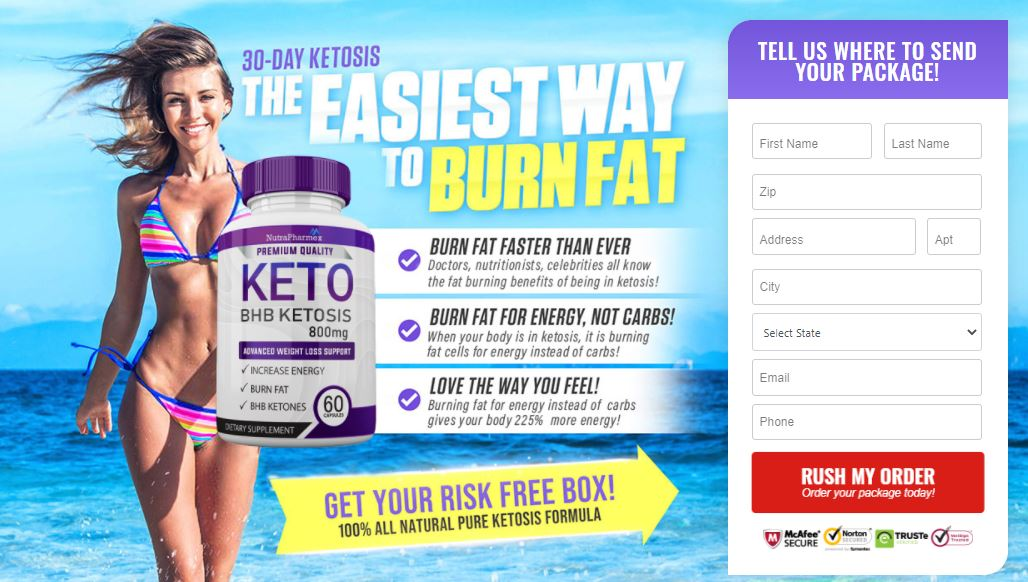 Nutrapharmex Keto Reviews